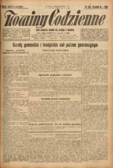 Nowiny Codzienne, 1925, R. 15, nr 202