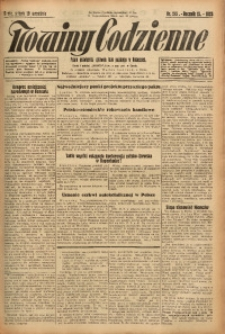 Nowiny Codzienne, 1925, R. 15, nr 215