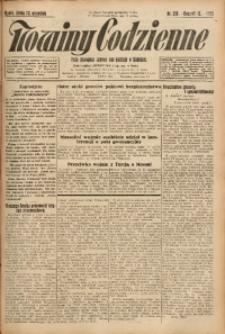 Nowiny Codzienne, 1925, R. 15, nr 218