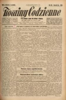 Nowiny Codzienne, 1925, R. 15, nr 222