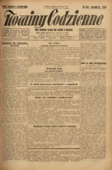 Nowiny Codzienne, 1925, R. 15, nr 234