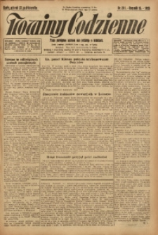 Nowiny Codzienne, 1925, R. 15, nr 241