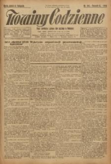 Nowiny Codzienne, 1925, R. 15, nr 262