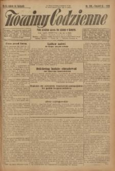 Nowiny Codzienne, 1925, R. 15, nr 263