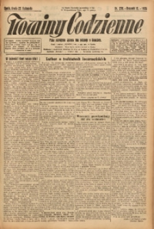 Nowiny Codzienne, 1925, R. 15, nr 270