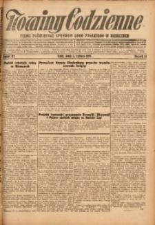 Nowiny Codzienne, 1926, R. 16, nr 127
