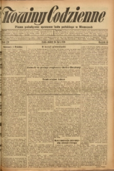 Nowiny Codzienne, 1926, R. 16, nr 170