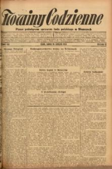 Nowiny Codzienne, 1926, R. 16, nr 183