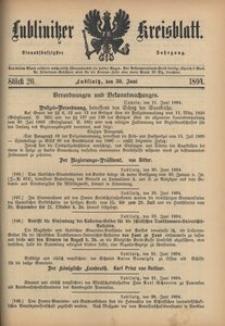 Lublinitzer Kreisblatt, 1894, Jg. 51, St. 26