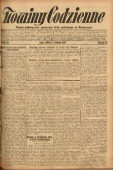 Nowiny Codzienne, 1926, R. 16, nr 189