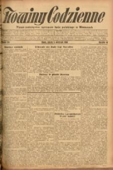 Nowiny Codzienne, 1926, R. 16, nr 201