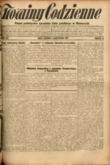 Nowiny Codzienne, 1926, R. 16, nr 226