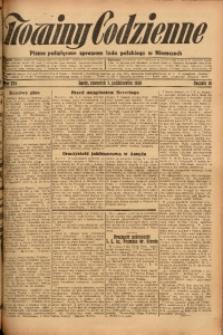 Nowiny Codzienne, 1926, R. 16, nr 229
