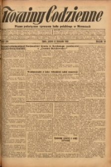 Nowiny Codzienne, 1926, R. 16, nr 259