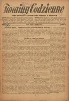 Nowiny Codzienne, 1927, R. 17, nr 2
