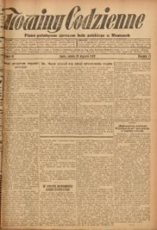 Nowiny Codzienne, 1927, R. 17, nr 17