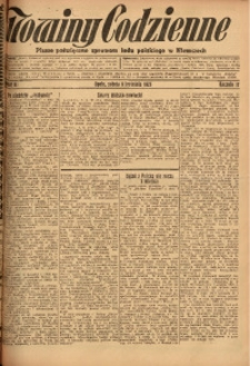 Nowiny Codzienne, 1927, R. 17, nr 81