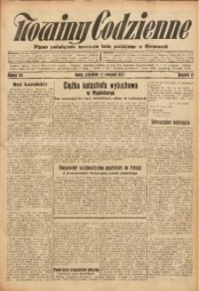 Nowiny Codzienne, 1927, R. 17, nr 181