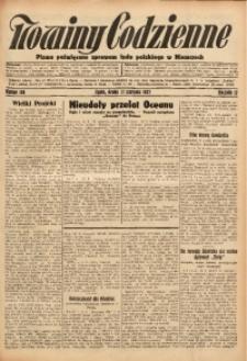 Nowiny Codzienne, 1927, R. 17, nr 186