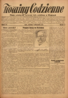 Nowiny Codzienne, 1927, R. 17, nr 226