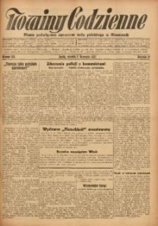 Nowiny Codzienne, 1927, R. 17, nr 256