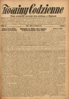 Nowiny Codzienne, 1927, R. 17, nr 257