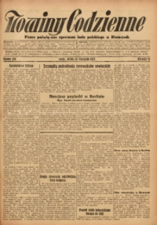 Nowiny Codzienne, 1927, R. 17, nr 268