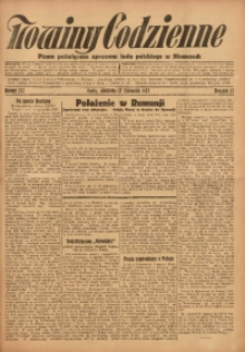 Nowiny Codzienne, 1927, R. 17, nr 272