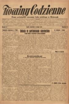 Nowiny Codzienne, 1928, R. 18, nr 27
