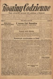 Nowiny Codzienne, 1928, R. 18, nr 43