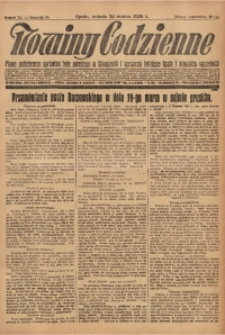 Nowiny Codzienne, 1928, R. 18, nr 70