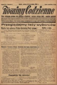 Nowiny Codzienne, 1928, R. 18, nr 98