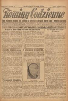 Nowiny Codzienne, 1928, R. 18, nr 114
