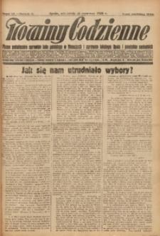 Nowiny Codzienne, 1928, R. 18, nr 132