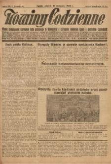 Nowiny Codzienne, 1928, R. 18, nr 201