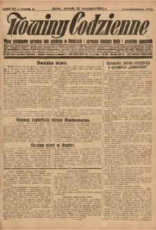 Nowiny Codzienne, 1928, R. 18, nr 222