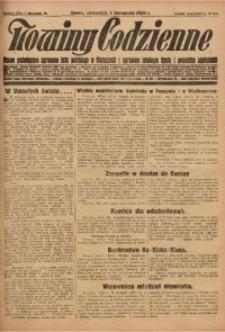 Nowiny Codzienne, 1928, R. 18, nr 254