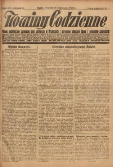 Nowiny Codzienne, 1928, R. 18, nr 263
