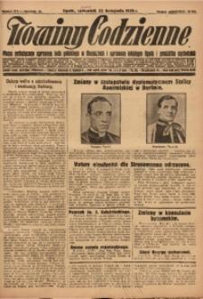 Nowiny Codzienne, 1928, R. 18, nr 271