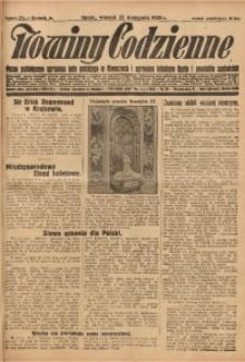 Nowiny Codzienne, 1928, R. 18, nr 274