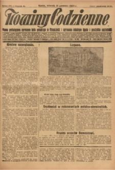 Nowiny Codzienne, 1928, R. 18, nr 285