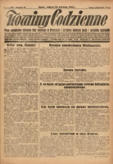 Nowiny Codzienne, 1928, R. 18, nr 299