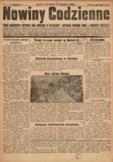 Nowiny Codzienne, 1929, R. 19, nr 2