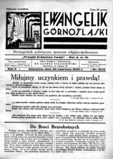 Ewangelik Górnośląski, 1933, R. 2, nr 12/13