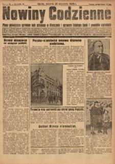 Nowiny Codzienne, 1929, R. 19, nr 18