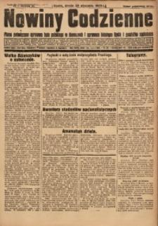 Nowiny Codzienne, 1929, R. 19, nr 25