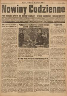 Nowiny Codzienne, 1929, R. 19, nr 40