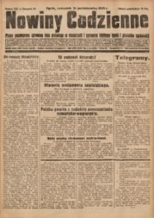 Nowiny Codzienne, 1929, R. 19, nr 252