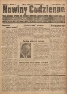 Nowiny Codzienne, 1929, R. 19, nr 255