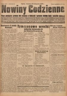 Nowiny Codzienne, 1929, R. 19, nr 267